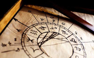 Kaj predstavlja karmična os, ki jo ustvarjata Rahu in Ketu, v djotišu (jyotish-u)?