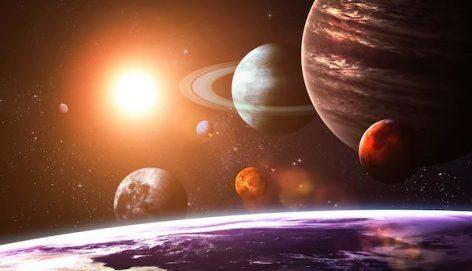 Vpliv in gibanje planetov.