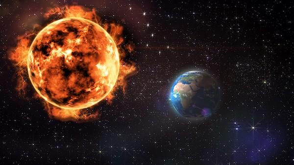 Vpliv in gibanje sonca.