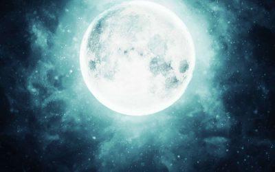Polna luna – pomen in kaj početi ob njej. 🌝
