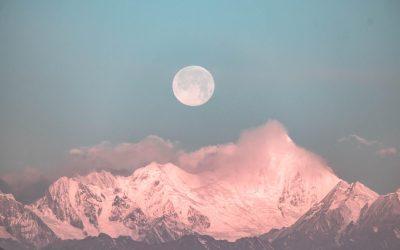 Polna luna in lunin mrk, 30.11.2020